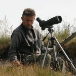 John Threlfall Wildlife and Landscape Artist - working in the field