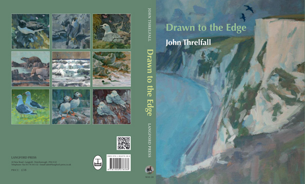 Book Sleeve for new book, Draw to the Edge